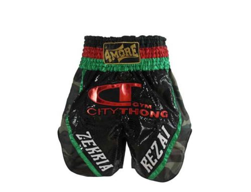 4More K-1 Boxing Shorts Zekria Rezai